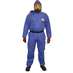 COMBINAISON THERMO COLLEE BLEUE T. XL TYPE 5-6
